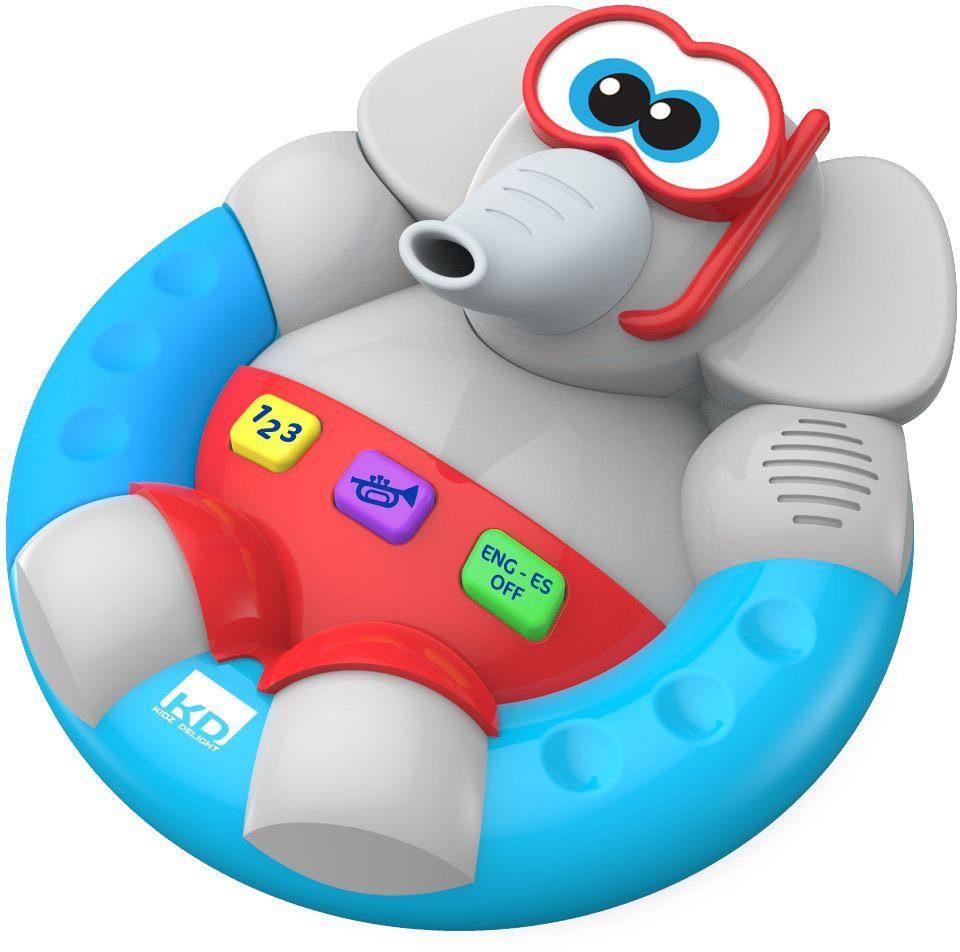 KD Kidz Delight, Wasserspielzeug mit Sound, »Badespaß Elefant«