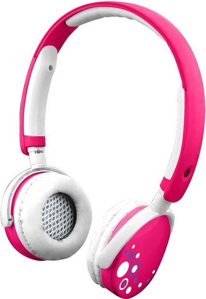 KD Interactive, Kinder Kopfhörer , »Kurio pink« in pink