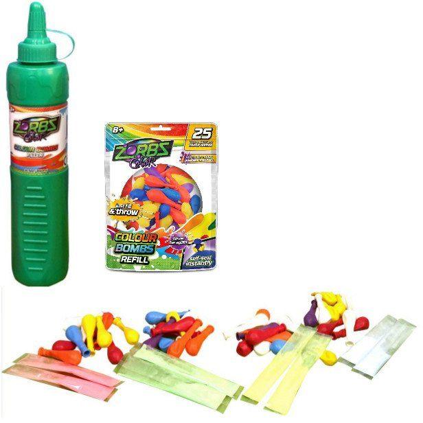 Zorbz Color, Wasserbomben Starterset mit Farben, »Starter + 25 Ballons«