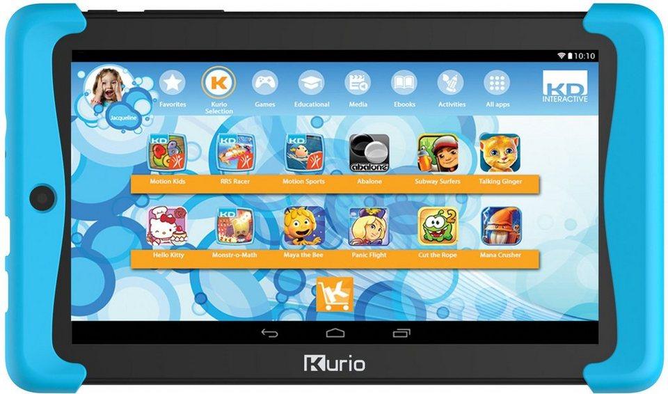 KD Interactive, Kinder Tablet mit Schutzhülle, »Kurio Tab 2 Motion«