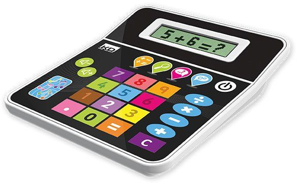 KD Kidz Delight, Taschenrechner mit Sprachfunktion für Kinder, »Tech Too Play'N'Learn Calculator«