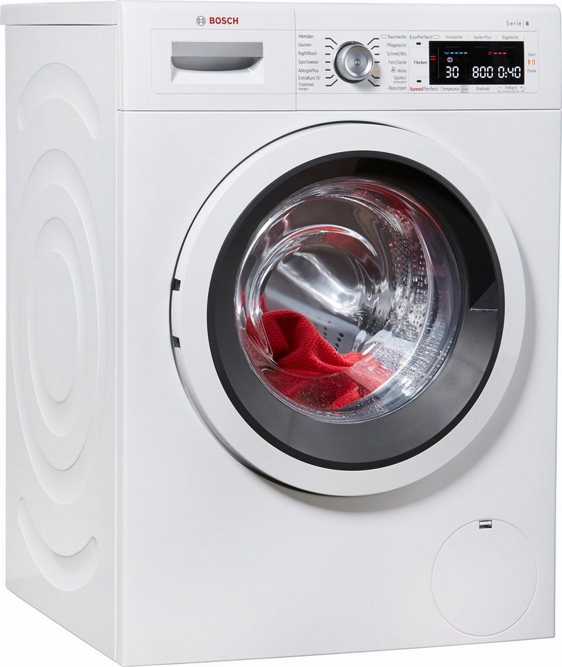 BOSCH Waschmaschine WAW285V0, A+++, 9 kg, 1400 U/Min in weiß