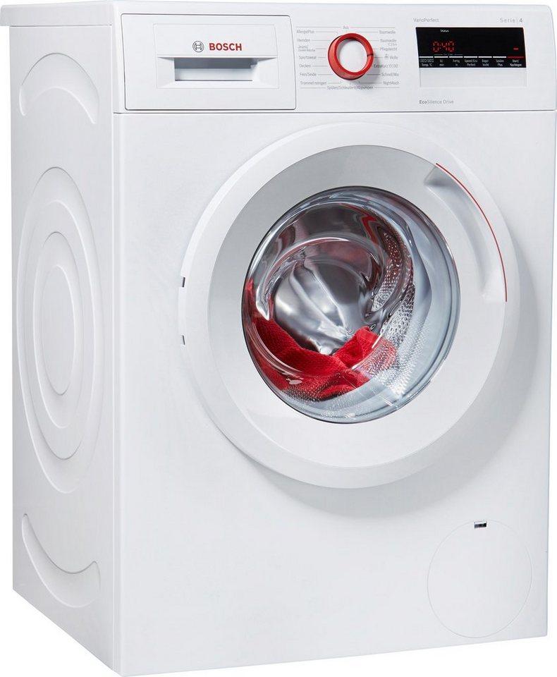 BOSCH Waschmaschine WAN282V8, A+++, 7 kg, 1400 U/Min in weiß