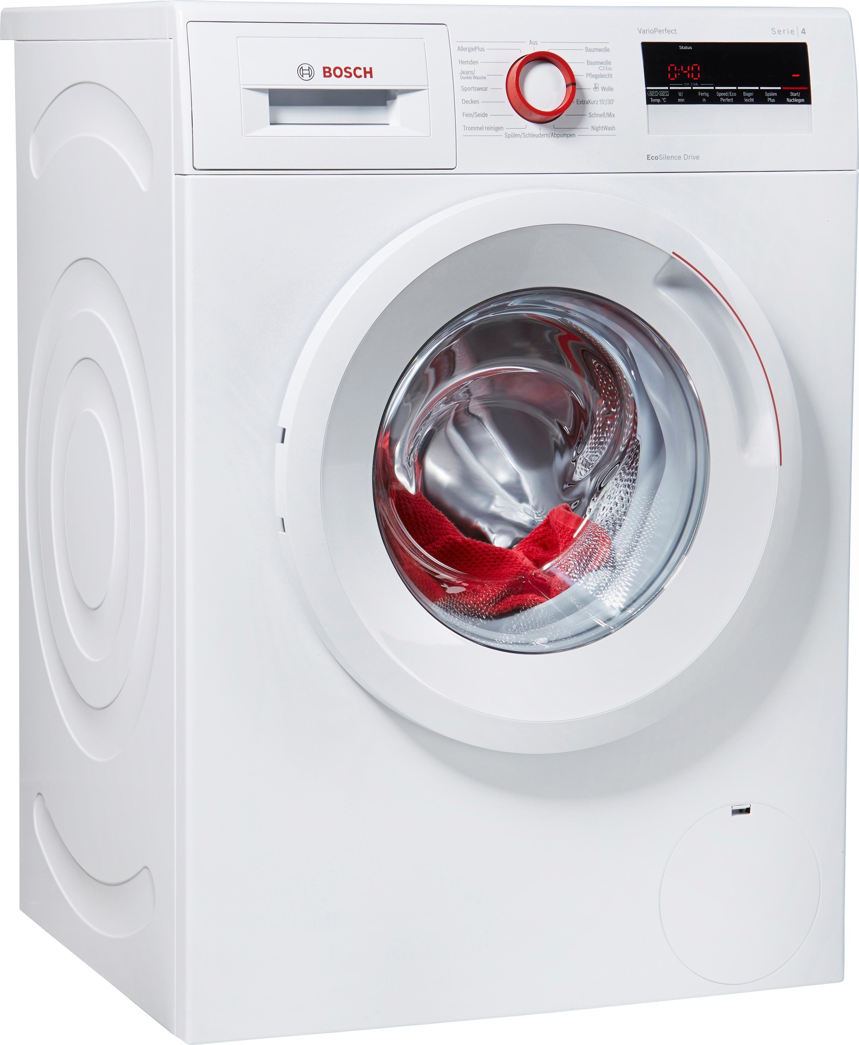 BOSCH Waschmaschine WAN282V8, A+++, 7 kg, 1400 U/Min