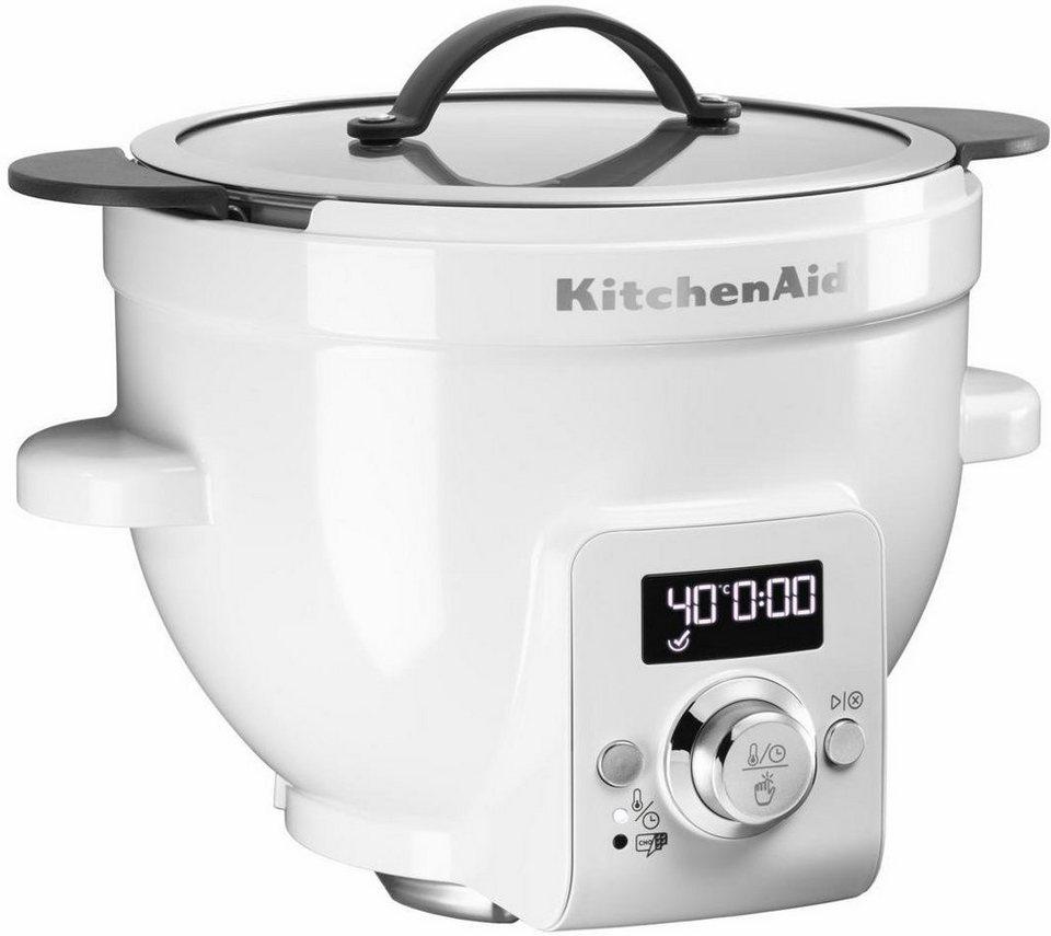 KitchenAid beheizte Rührschüssel 5KSM1CBT. Einsetzbar mit der Küchenmaschine oder separat in weiß