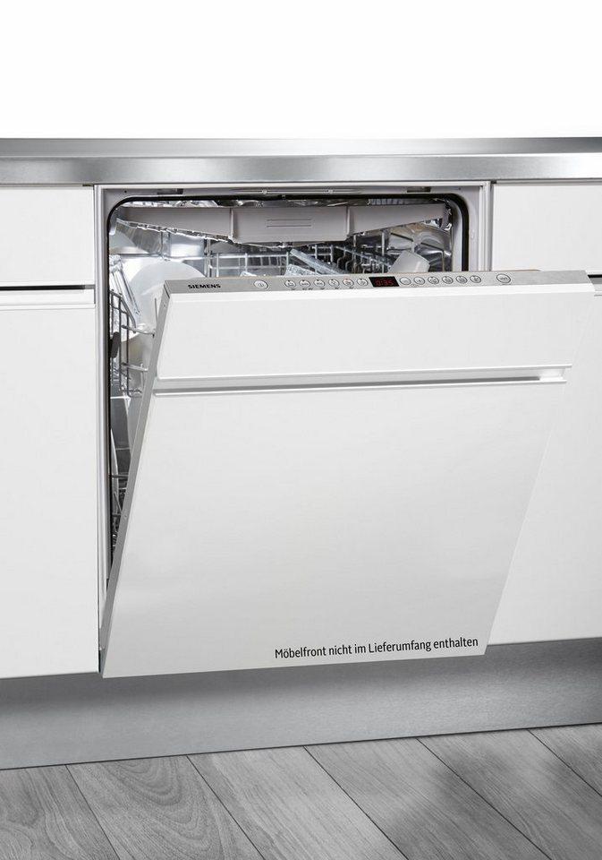 SIEMENS Vollintegrierbarer Einbaugeschirrspüler SN66L070EU, A++, 7,5 Liter, 13 Maßgedecke