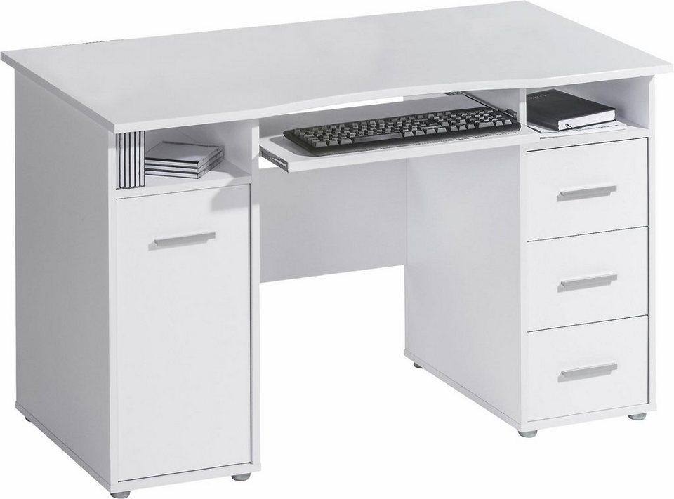 Maja Möbel Schreibtisch »4029« in weiß/weiß