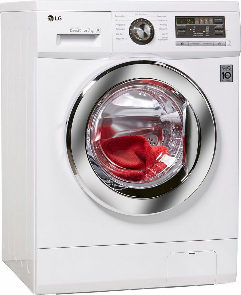 lg waschmaschine f1496qd3h a 7 kg 1400 u min otto. Black Bedroom Furniture Sets. Home Design Ideas