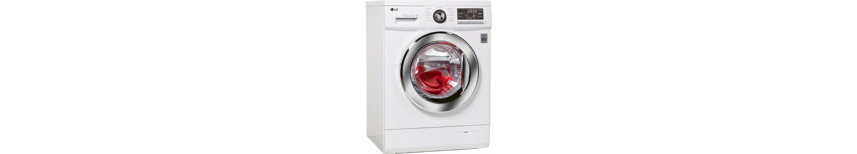 LG Waschmaschine F1496QD3H, A+++, 7 kg, 1400 U/Min