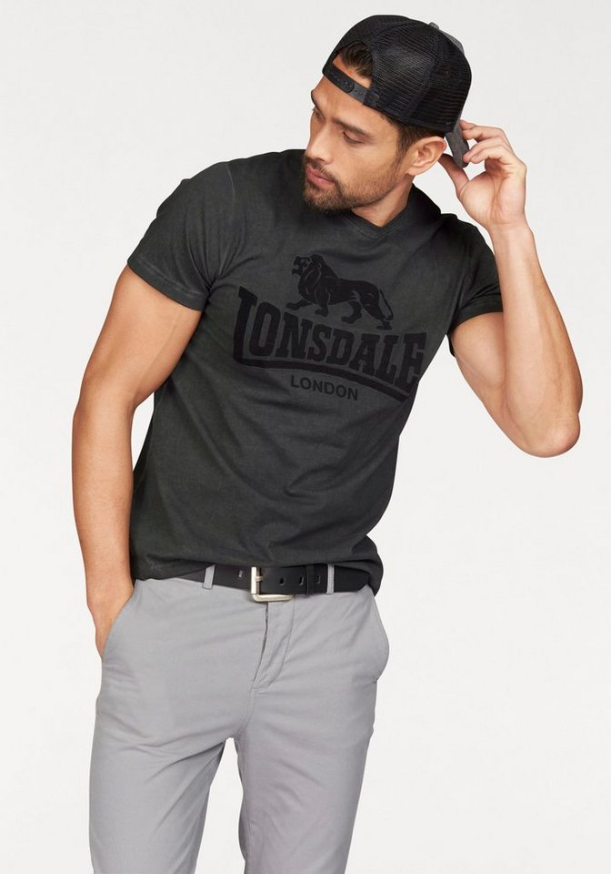 Lonsdale T-Shirt in anthrazit