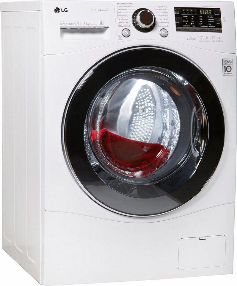 LG Waschtrockner F14A8 FDH2NH, B, 9 kg / 6 kg, 1400 U/Min in weiß