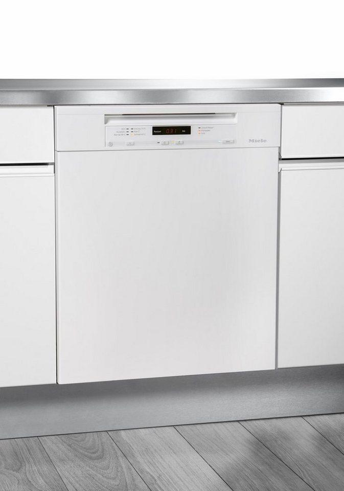MIELE Unterbaugeschirrspüler G6200SCU, A+++, 9,7 Liter, 14 Maßgedecke in weiß
