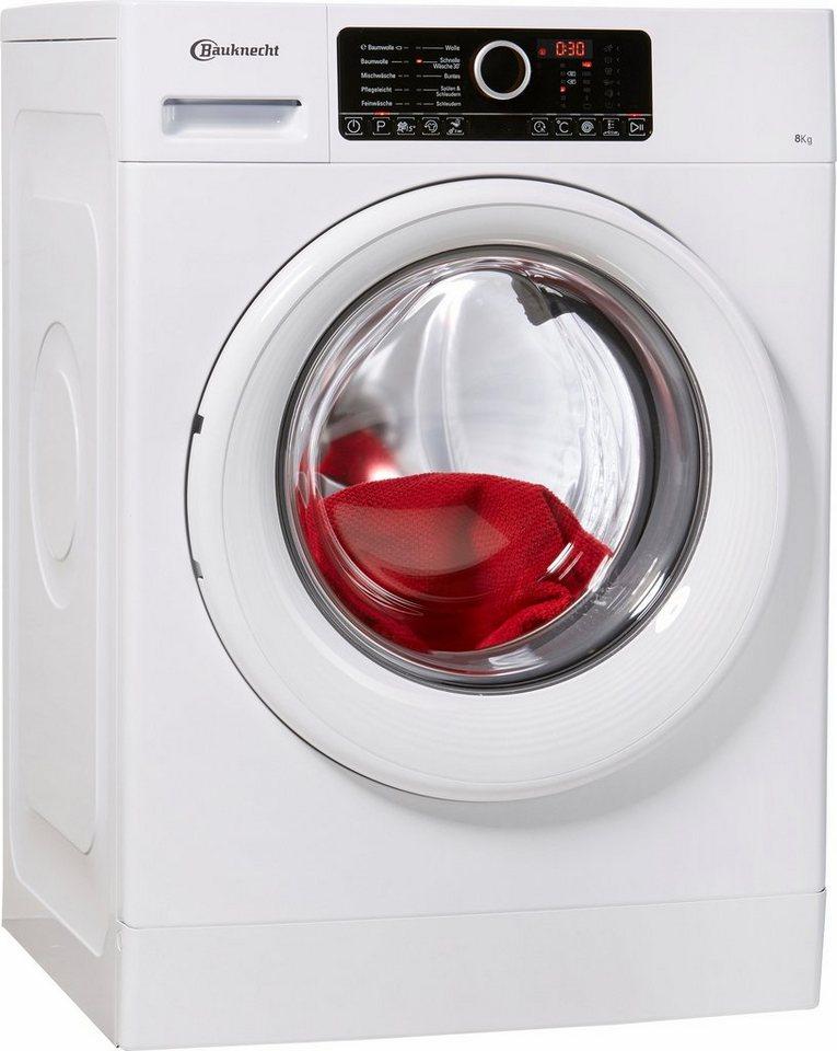 bauknecht waschmaschine super eco 8416 a 8 kg 1400 u. Black Bedroom Furniture Sets. Home Design Ideas