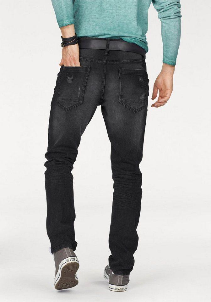 John Devin Slim-fit-Jeans in black-used