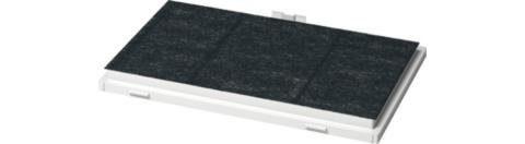 BOSCH Aktivkohlefilter DSZ4551, Zubehör für Bosch Flachschirmhaube DFLO64W50