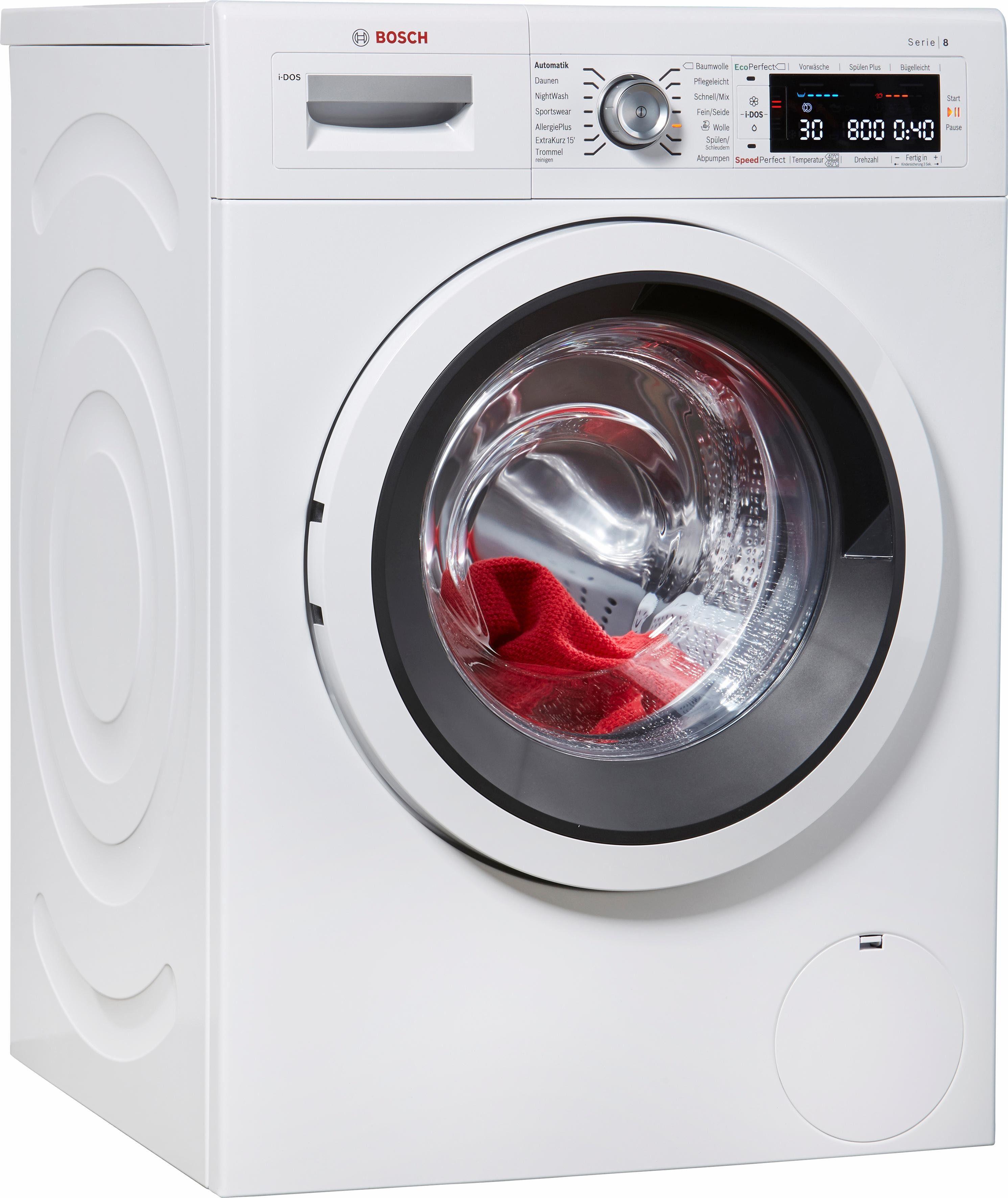 BOSCH Waschmaschine WAW286V0, A+++, 9 kg, 1400 U/Min