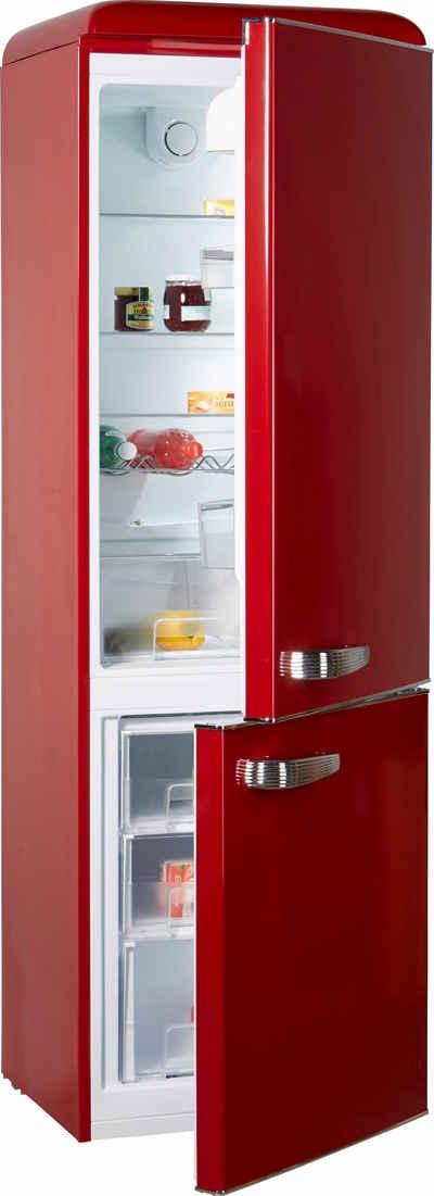 Kühl-Gefrierkombination in rot online kaufen | OTTO