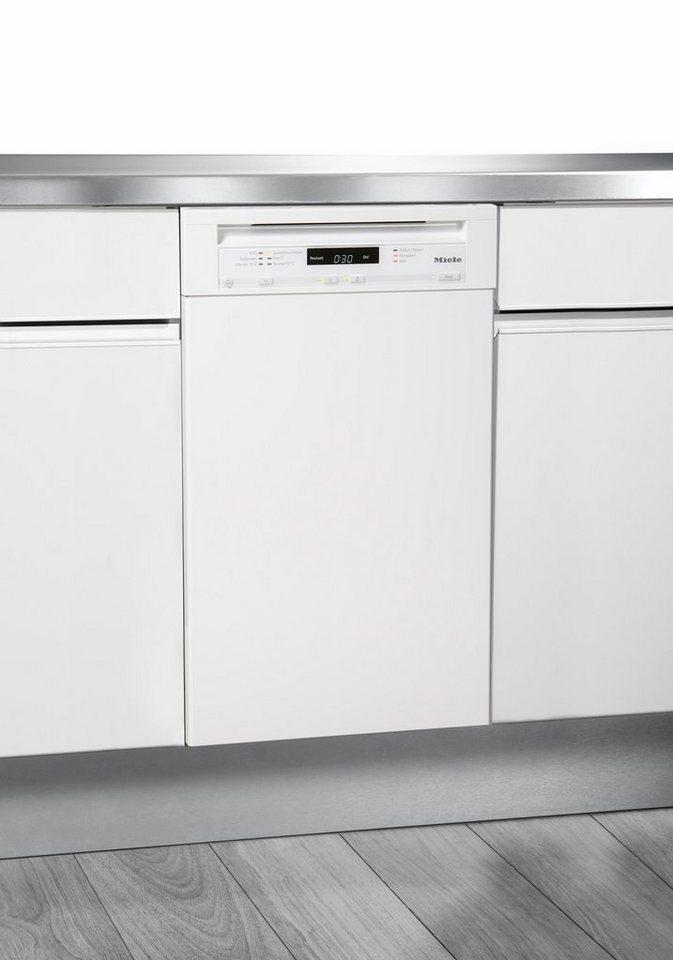MIELE Unterbaugeschirrspüler G4720SCU, A+, 8,7 Liter, 9 Maßgedecke in weiß