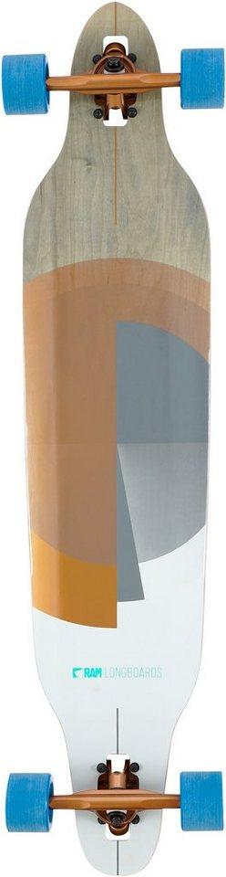 Ram Longboard, »Cariad« in mehrfarbig