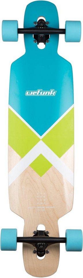 wefunk Longboard, »Crossed-Twintip« in mehrfarbig