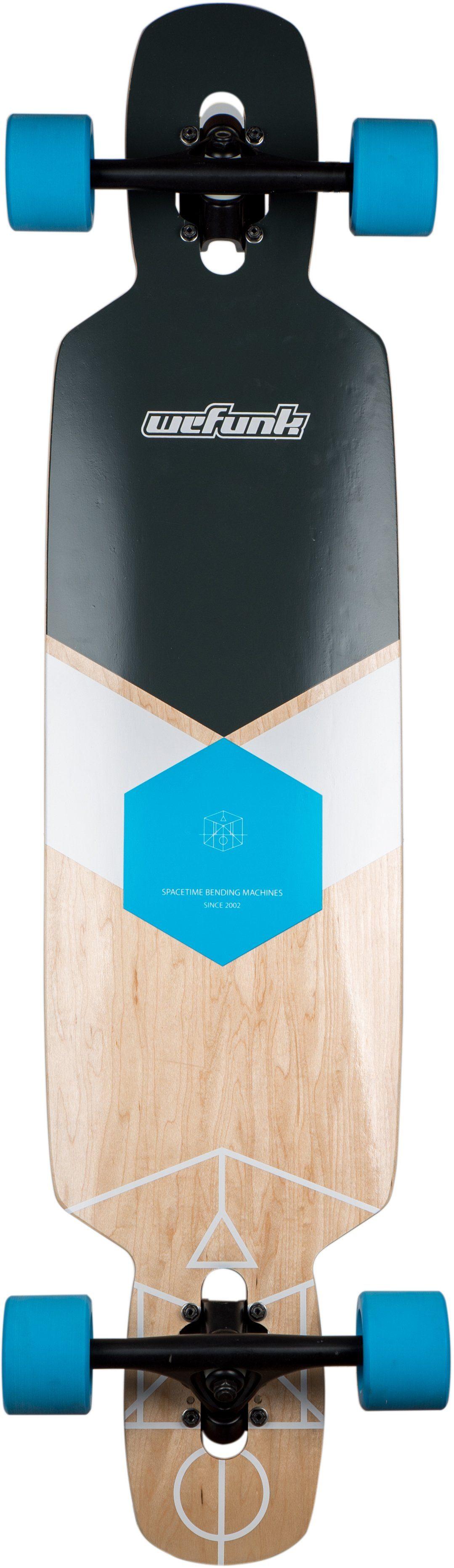 wefunk Longboard, »Hexagon-Twintip«
