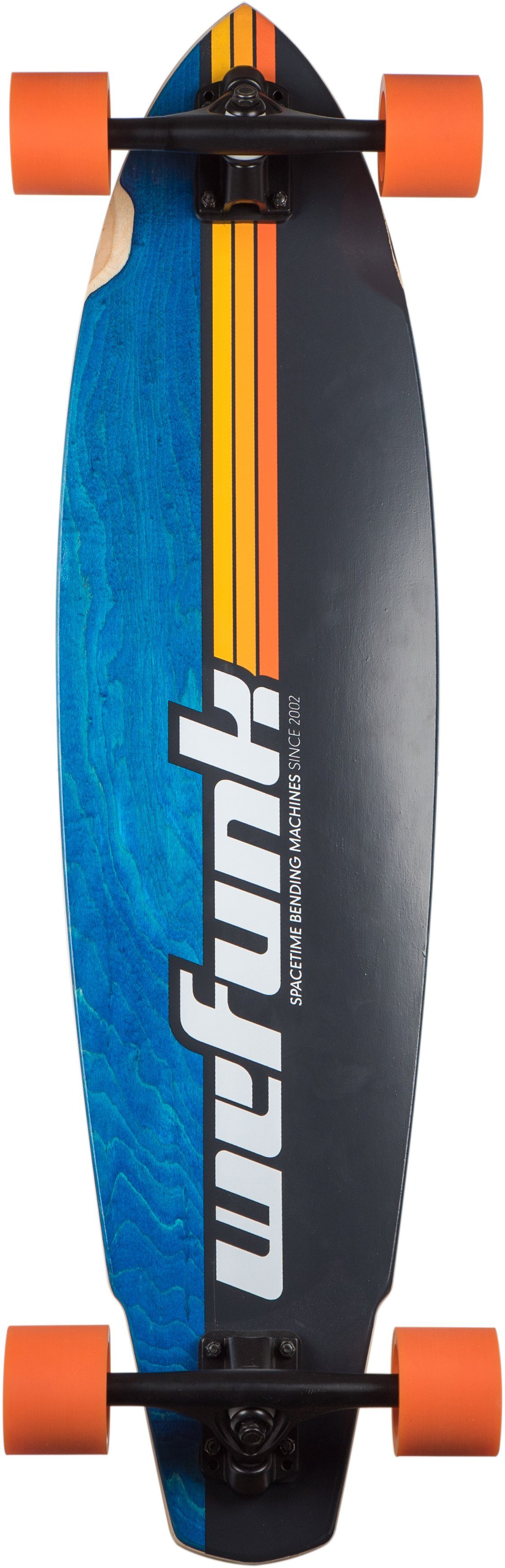 wefunk Longboard, »Stripes- Speed Carver«