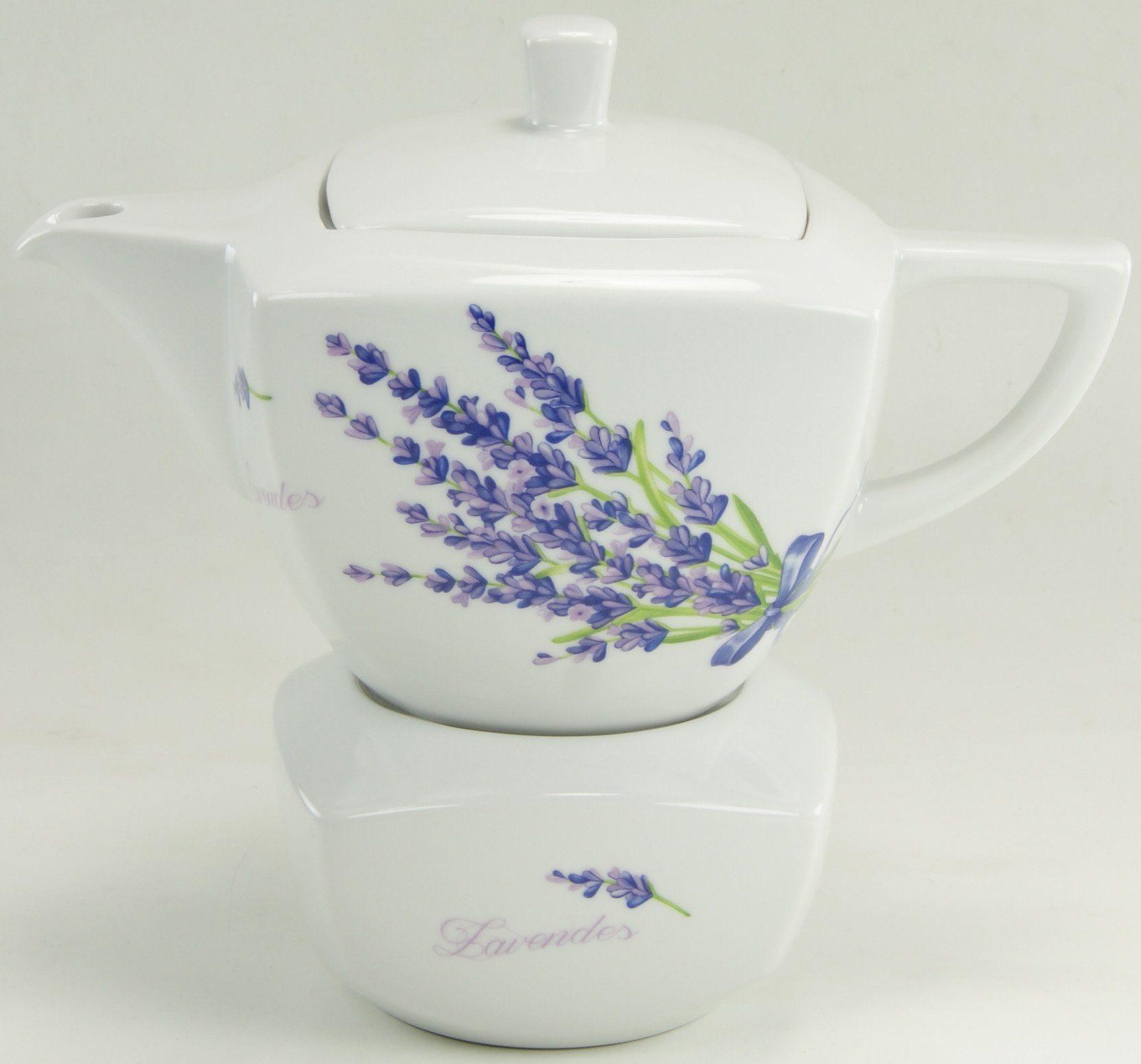 CreaTable Teekanne Porzellan, »DAKAR«