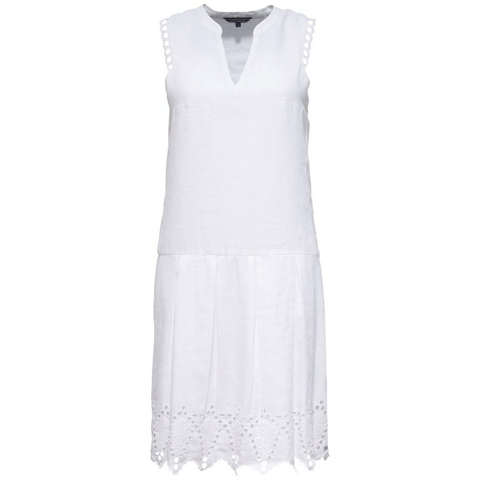 Tommy Hilfiger Kleider »NETTA DRESS NS« in WHITE