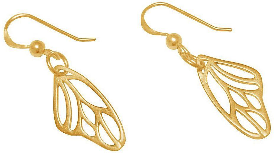 Gemshine Paar Ohrhaken, »Schmetterlingsflügel, Pal2o«