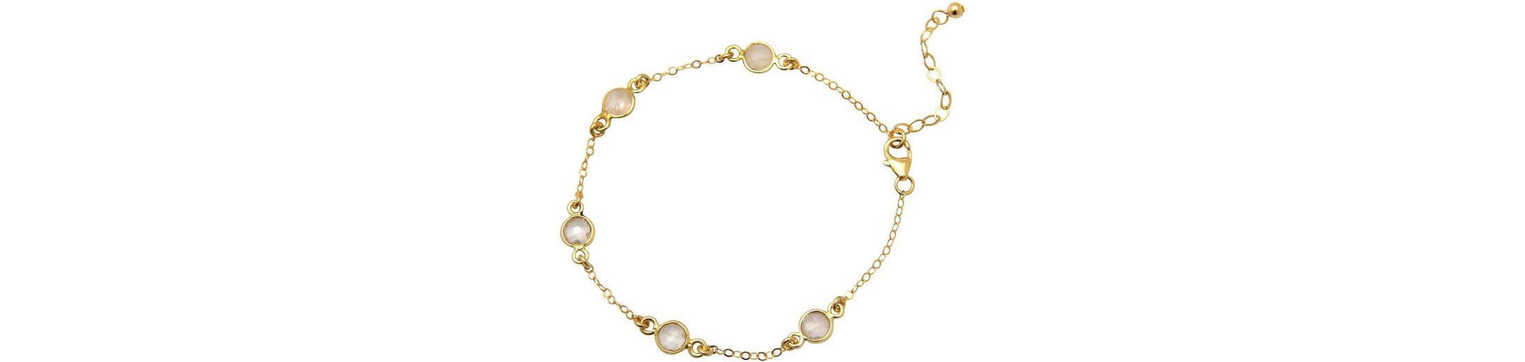 Gemshine Armband mit Rosenquarz, »Egrqo«
