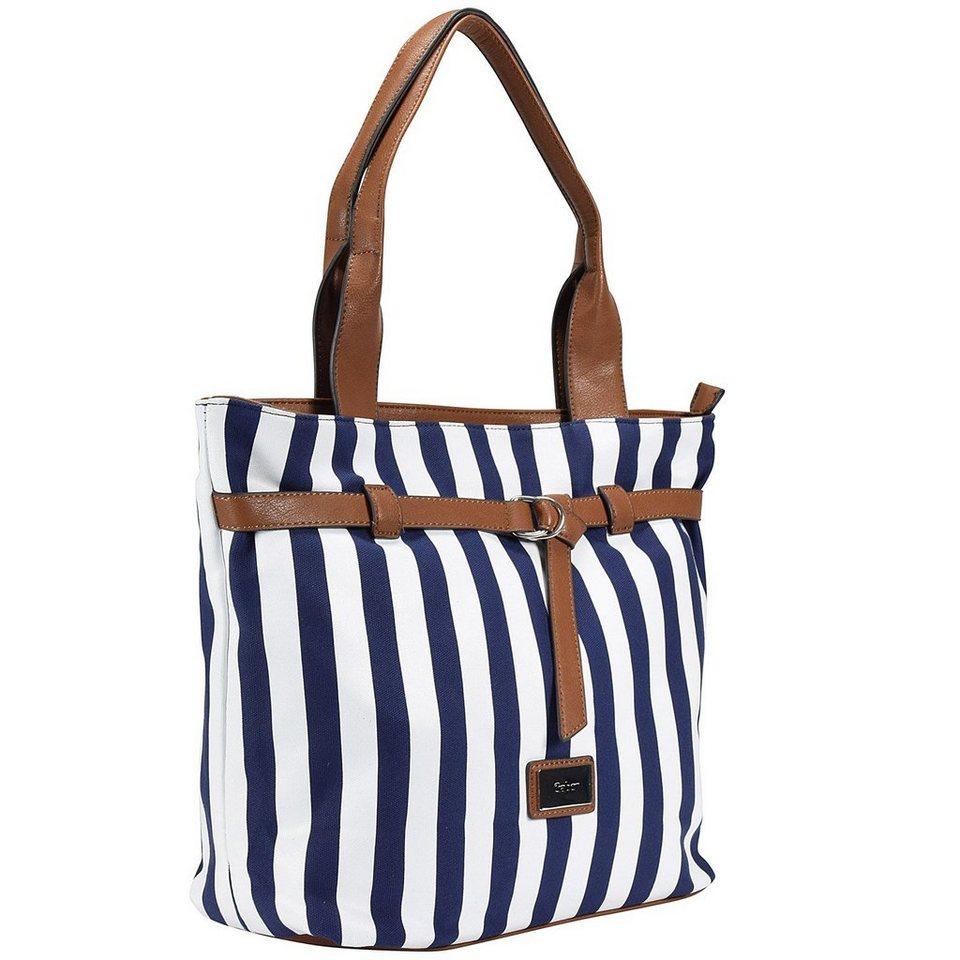 Gabor Sienna Shopper Tasche 31 cm in blue