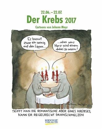Kalender »Der Krebs 2017. Sternzeichen-Cartoonkalender«