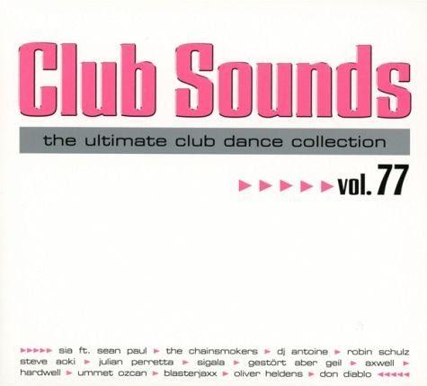 Audio CD »Diverse: Club Sounds Vol.77«