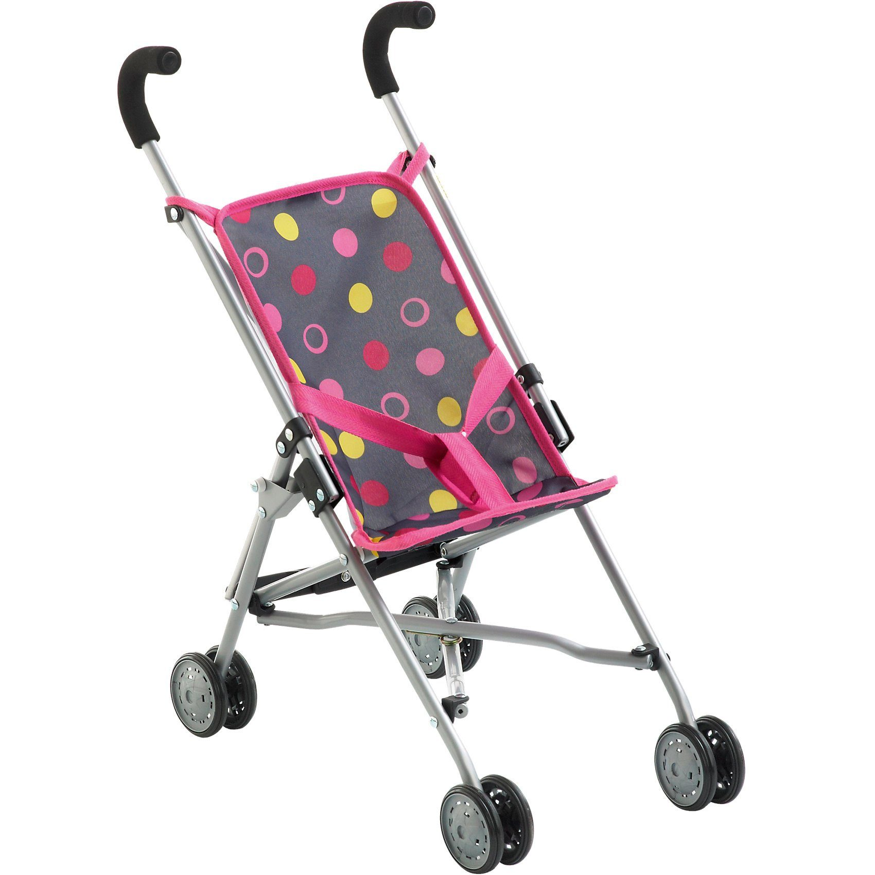 CHIC 2000 Mini Puppen-Buggy Roma, Funny Pink