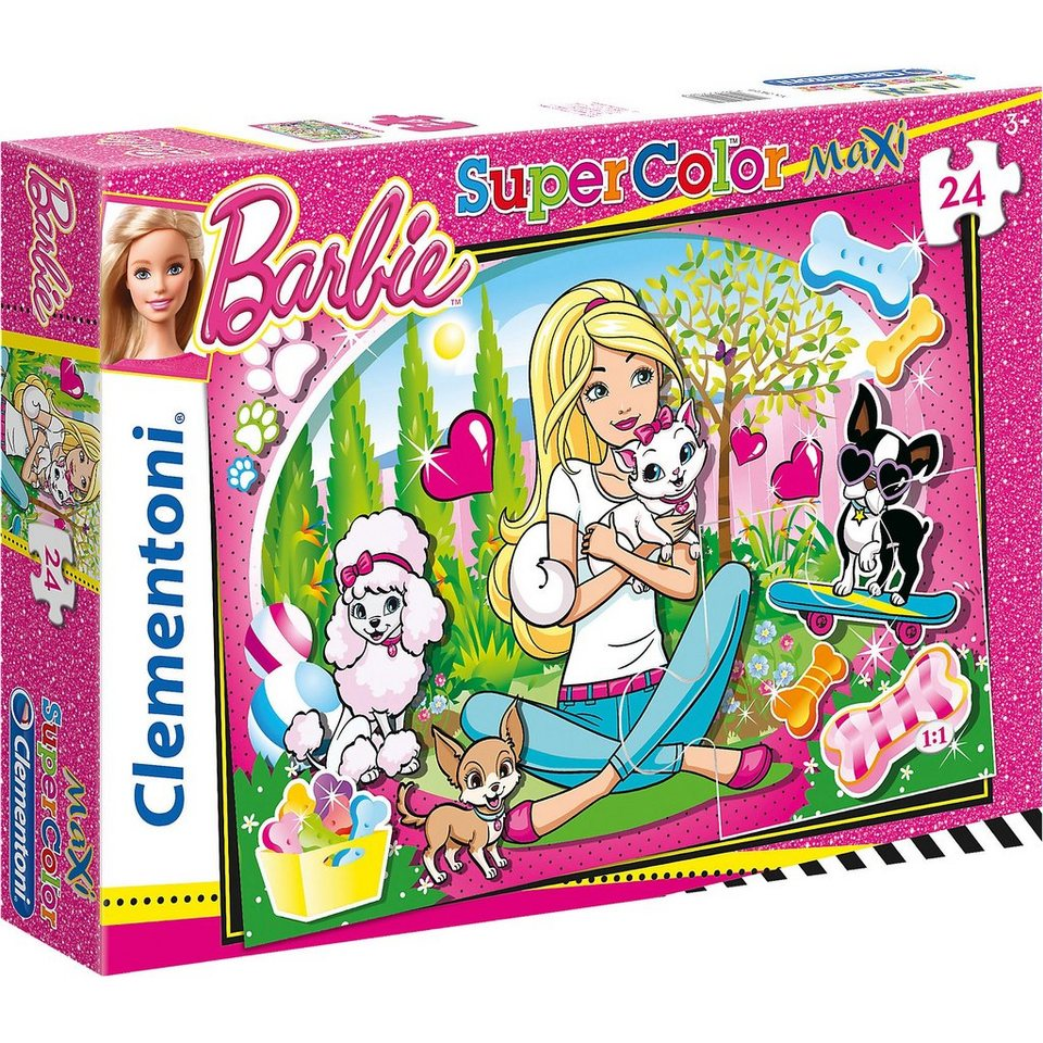 Clementoni Maxi Puzzle 24 Teile - Barbie