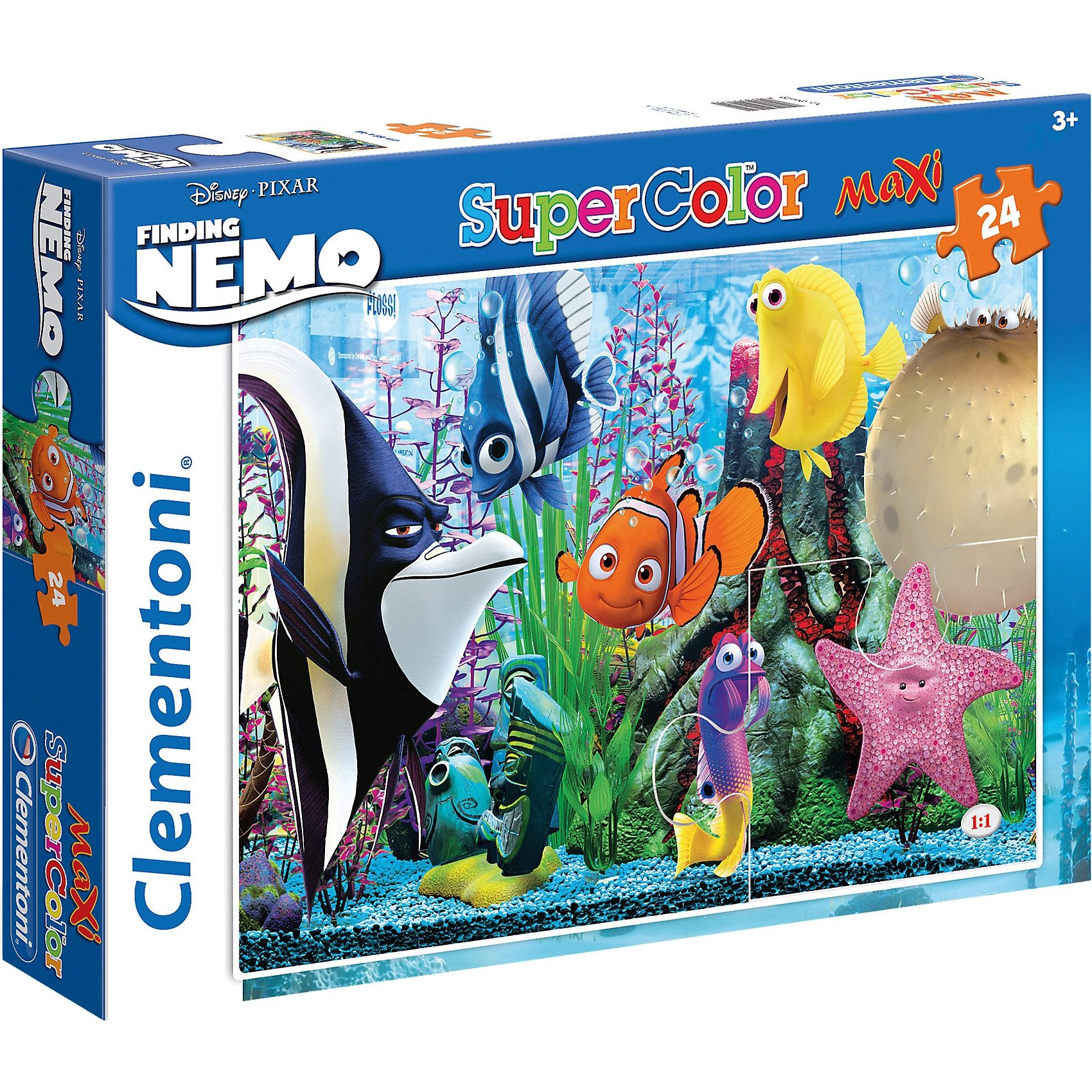Clementoni Maxi Puzzle 24 Teile - Nemo