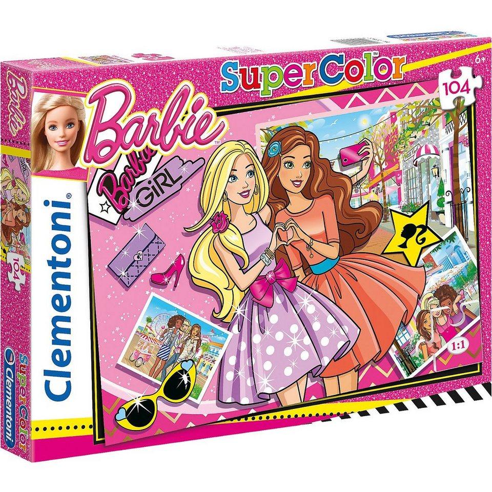 Clementoni Puzzle 104 Teile - Barbie