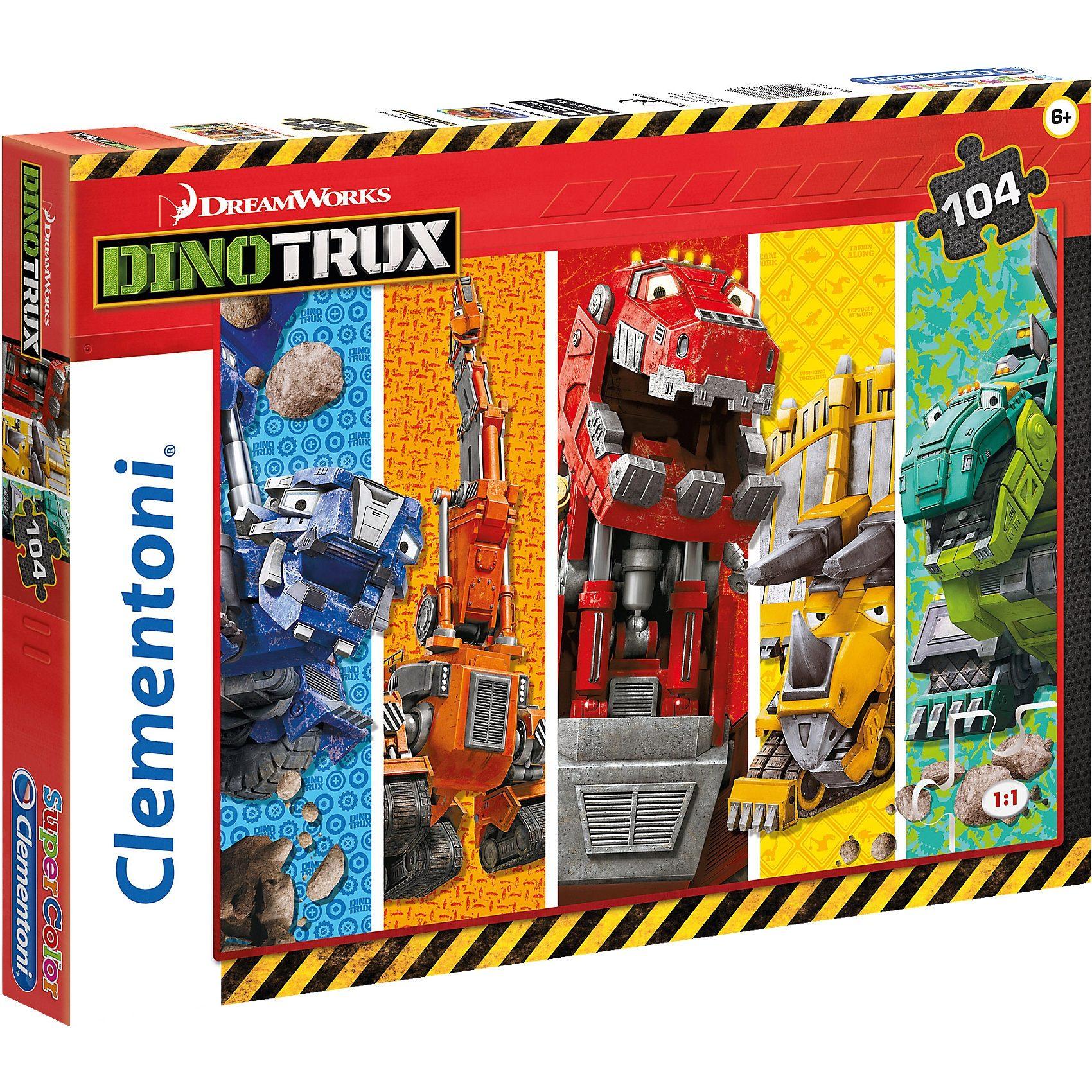 Clementoni Puzzle 104 Teile - Dinotrux