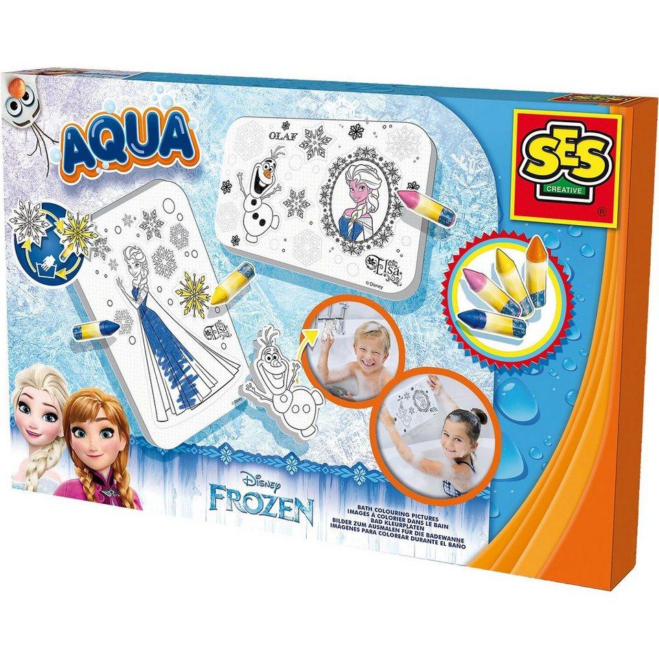 SES Creative Malen in der Badewanne - Die Eiskönigin