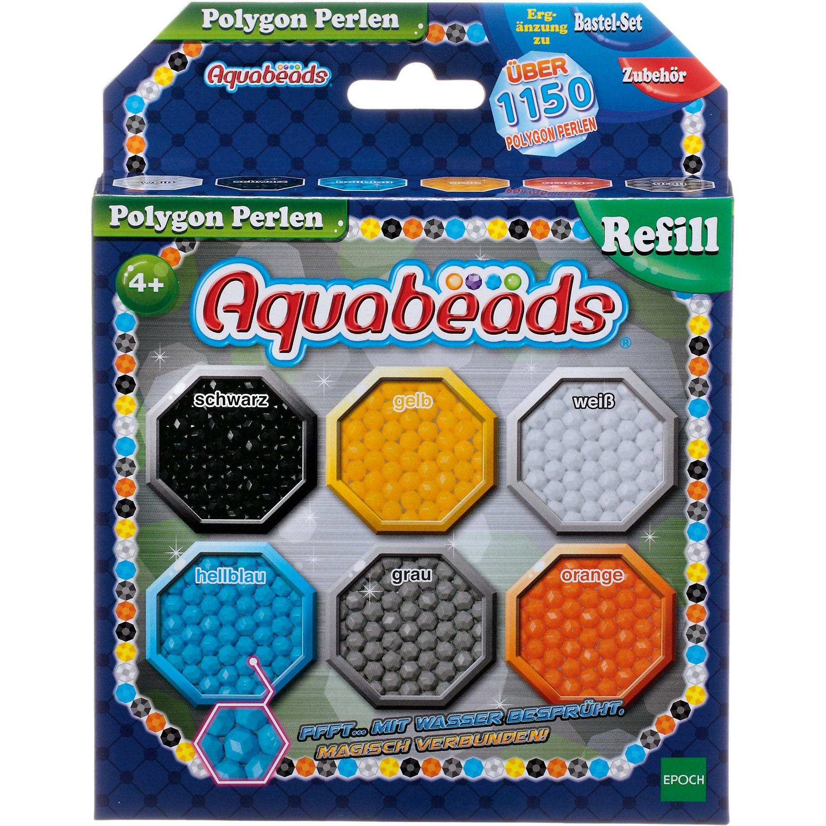 Epoch Traumwiesen Aquabeads Polygon Perlen