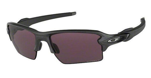 Oakley Herren Sonnenbrille »FLAK 2.0 XL OO9188«, grau, 918816 - grau/weiß
