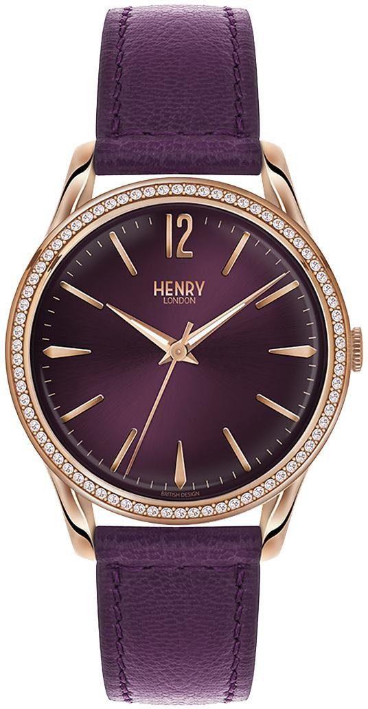 Henry London Quarzuhr »Hampstead, HL39-SS-0084«