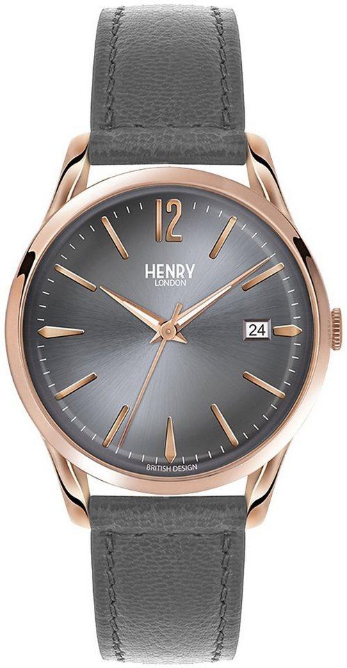 Henry London Armbanduhr, »Finchley, HL39-S-0120« in grau