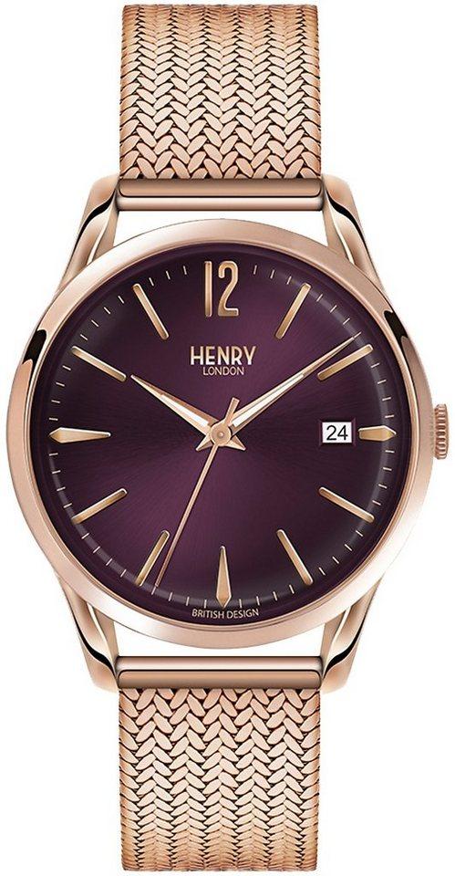 Henry London Armbanduhr, »Hampstead, HL39-M-0078« in roségoldfarben