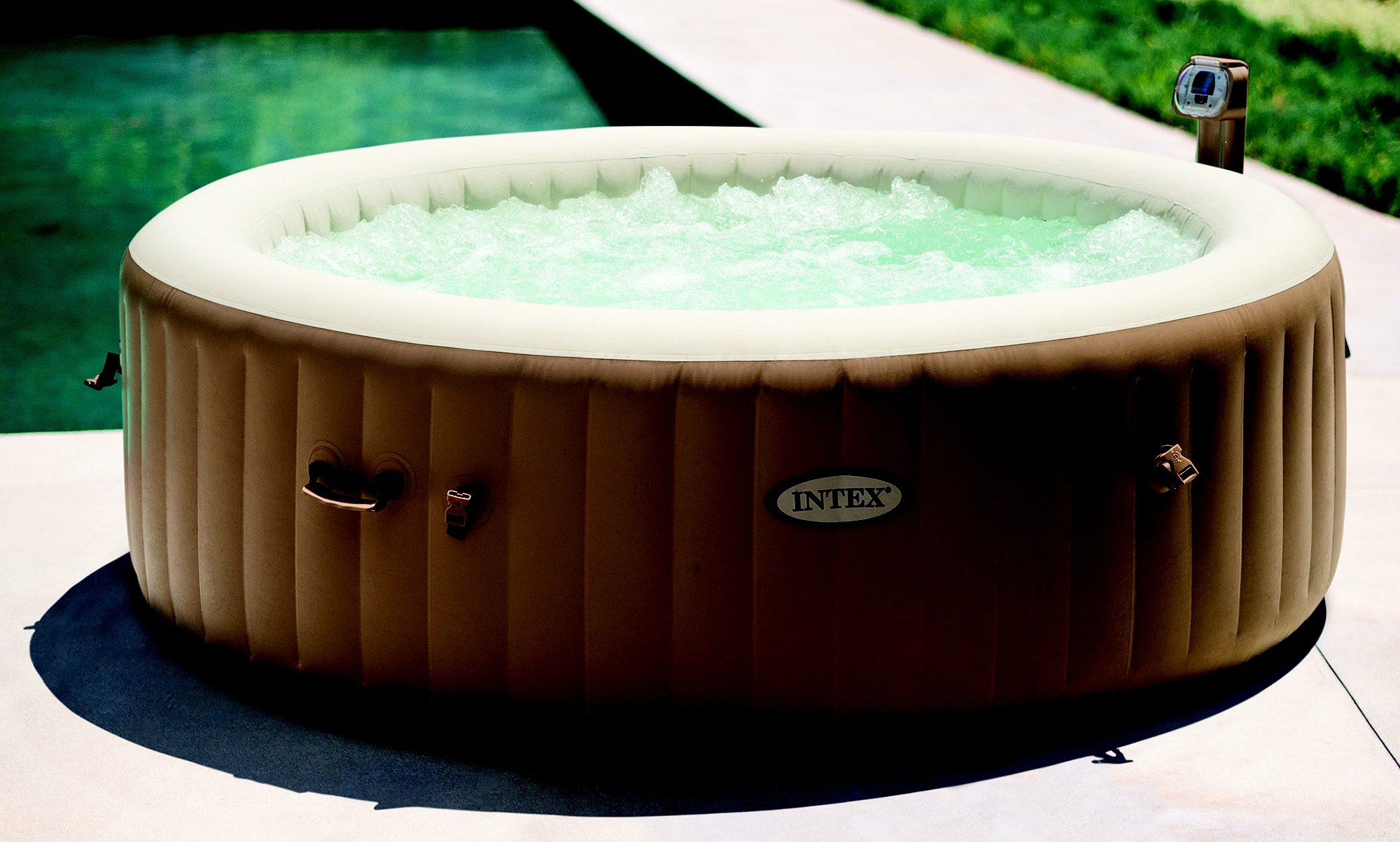 Intex Whirlpool-Set, »PureSpa Bubble Therapy Round«