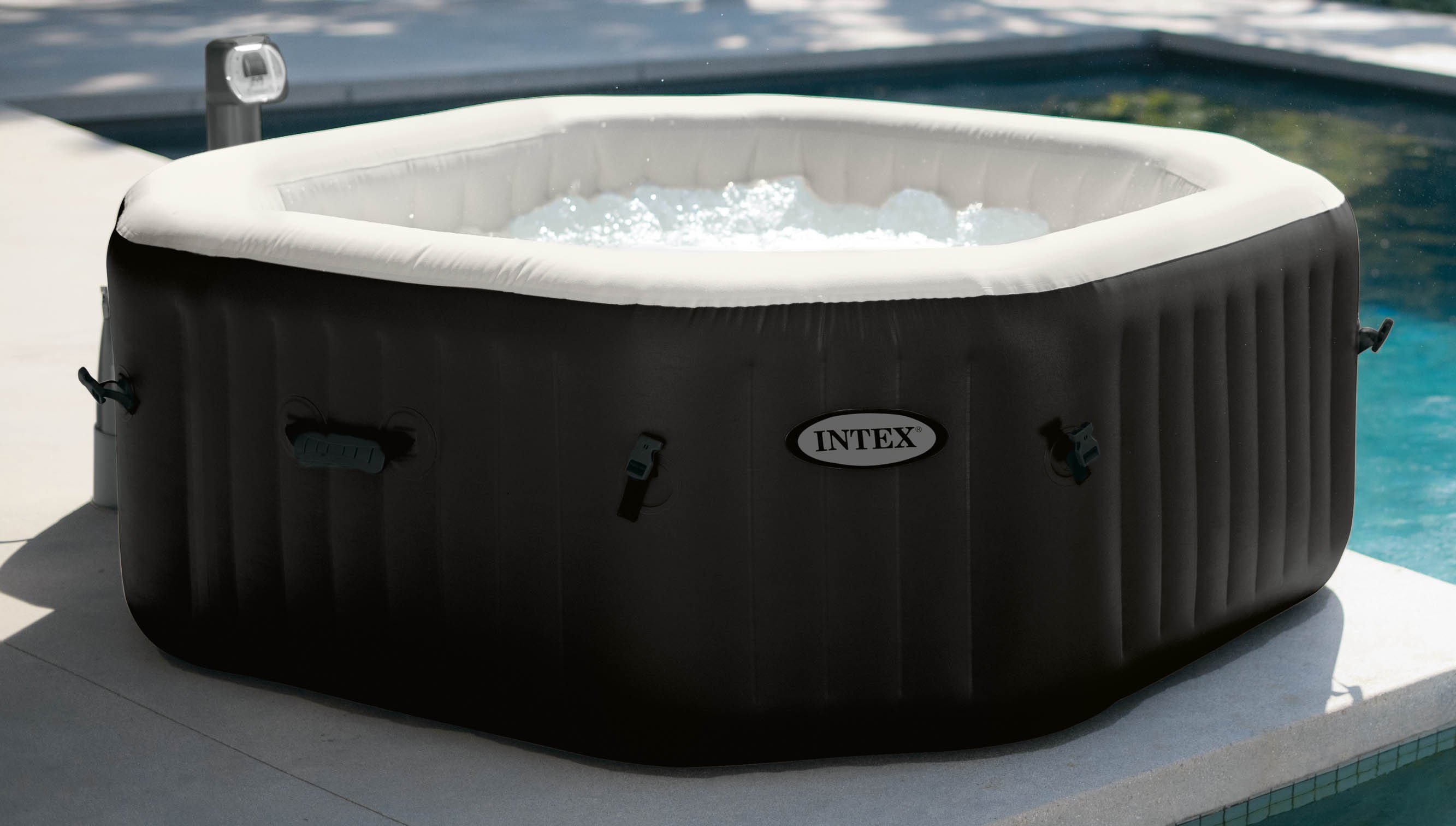 Intex Whirlpool-Set, »PureSpa Jet & Bubble Deluxe Octagon«