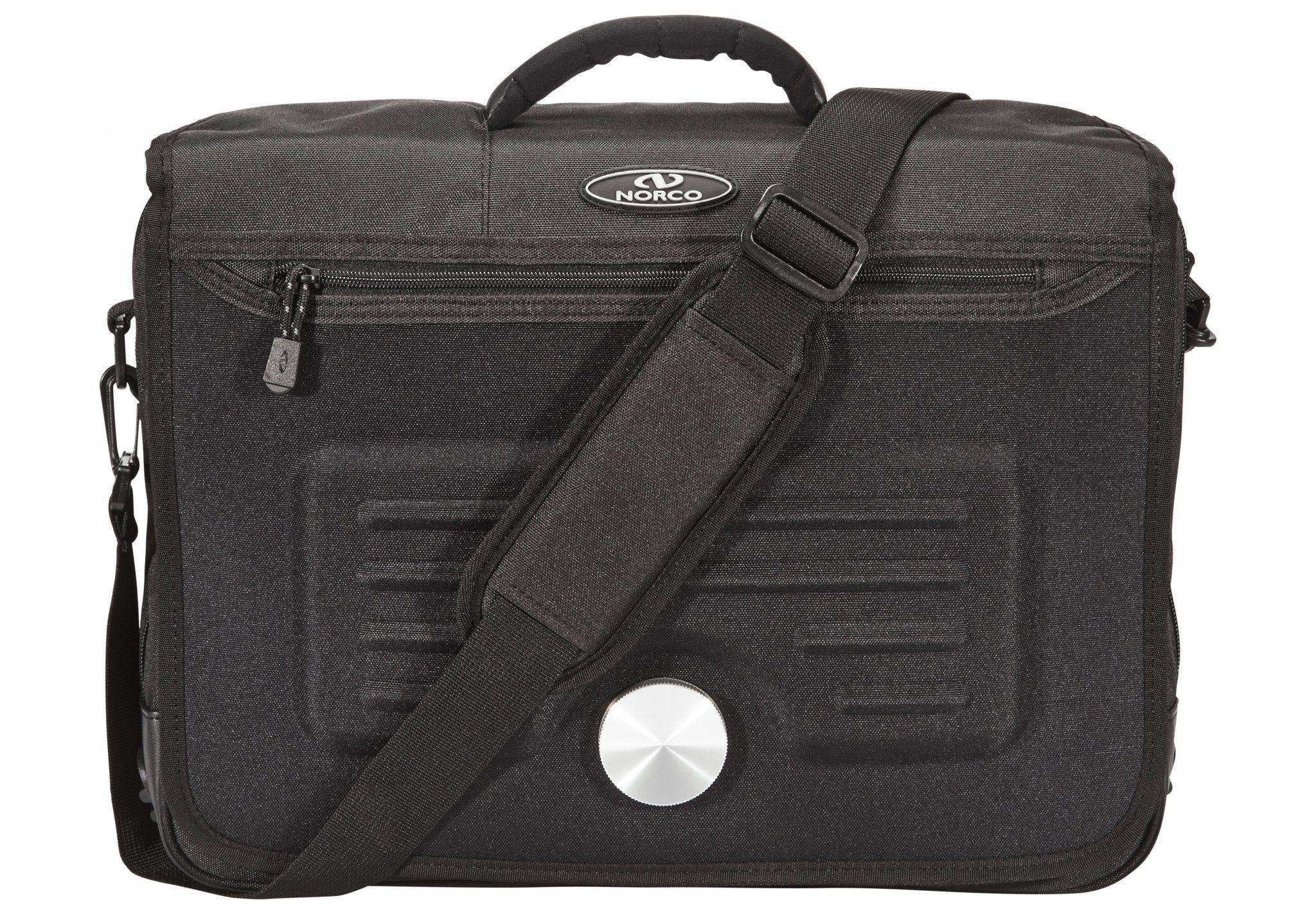Norco Gepäckträgertasche »Lifestyle Office Tasche schwarz«