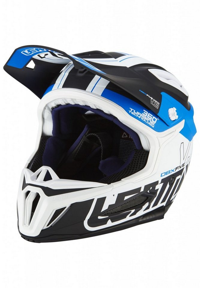 Leatt Brace Fahrradhelm »DBX 5.0 Composite Helmet« in schwarz