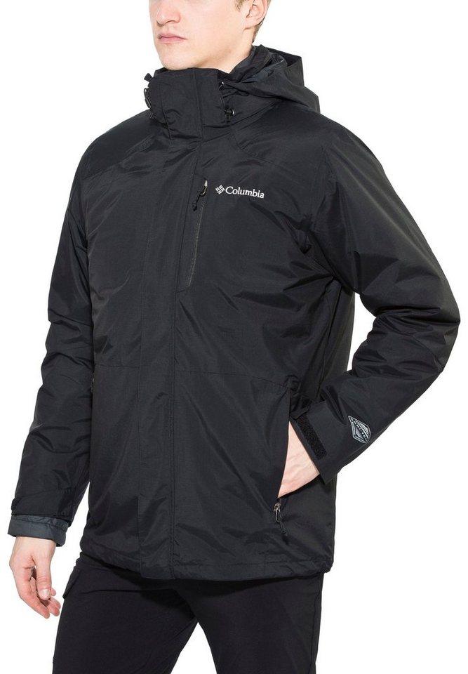 Columbia Outdoorjacke »Element Blocker Interchange Jacket Men« in schwarz