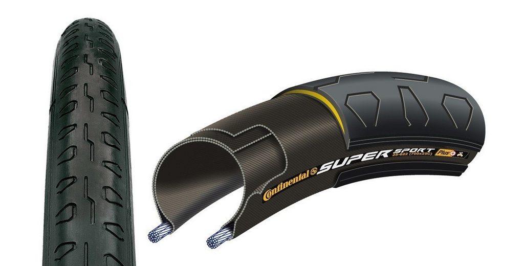 Continental Fahrradreifen »Super Sport Plus 700 x 23C Draht«